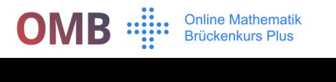 Logo des Onlinekurses OMB +