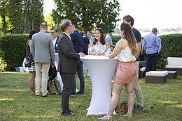 Das Netzwerktreffen 2018 bei BERBUS in Grünau im Freien