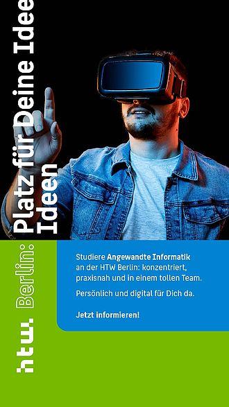Instagram Story Ad für die HTW Berlin