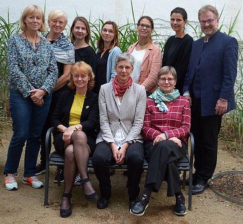 Frauenbeauftragte und Präsident der HTW Berlin