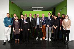 Gruppenfoto vom Deutschlandstipendium2019HTWBerlin-Auftaktveranstaltung