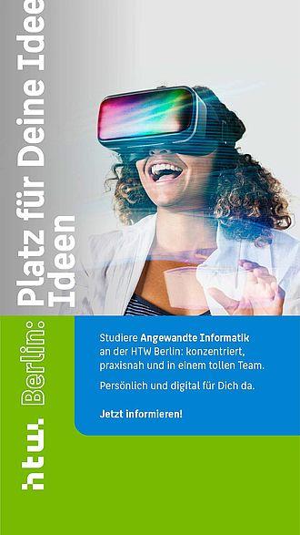 Instagram Story Ad für Angewandte Informatik