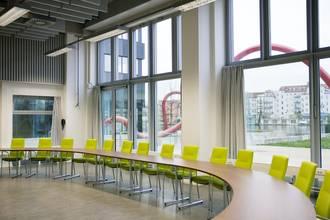 Veranstaltungsraum Gebäude G 008 © HTW Berlin/Maria Schramm