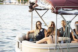 Bootsfahrt auf der Dahme beim Netzwerktreffen 2018