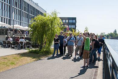 Campusführung am Wilhelminenhof