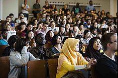 Begrüßung - Event: Begrüßungsveranstaltung Internationaler Studierender