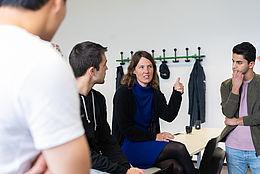 Integra Teilnehmende im Unterricht