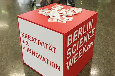 [Translate to Englisch:] Das Key Visual der Berlin Science Week