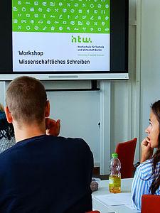 Workshop Wissenschaftliches Schreiben © HTW Berlin/Maike Sommer