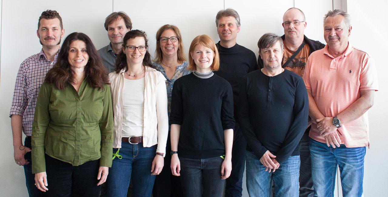 Gruppenfoto vom Umweltteam