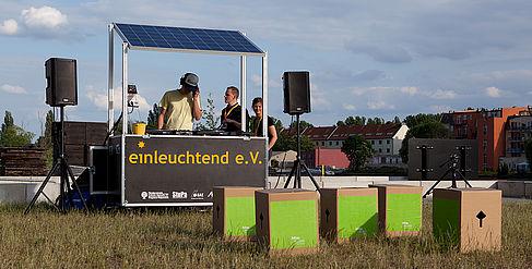 Das Solar Sound System von einleuchtend