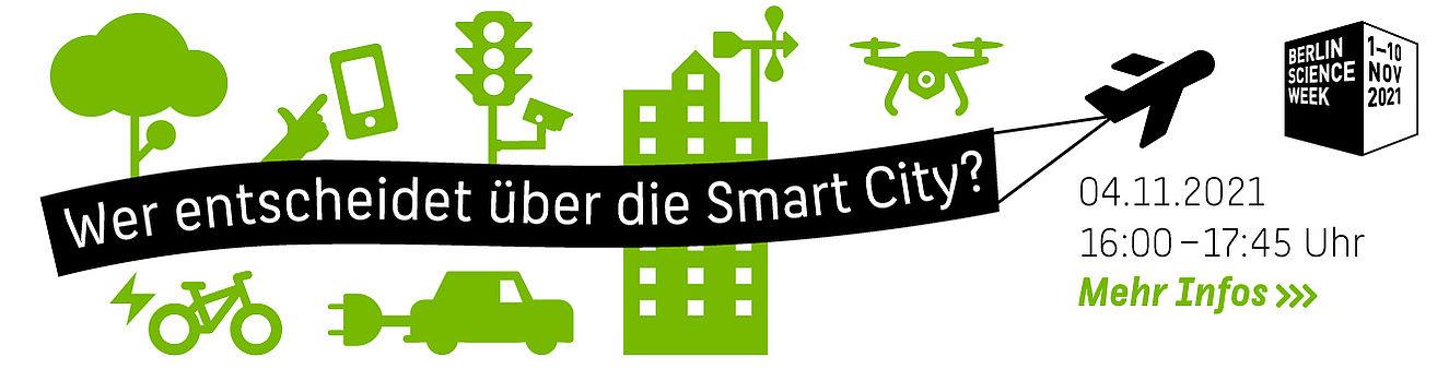 Wer entscheidet über die Smart City? Veranstaltung am 4. November 2021