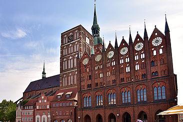 Rathaus Stralsund, Foto: Von Bahnfrend - Eigenes Werk, CC BY-SA 4.0
