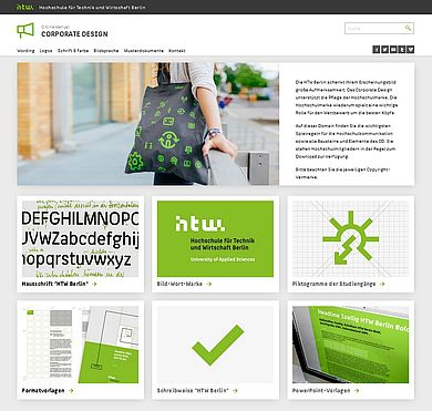 Zur Corporate-Design-Website der HTW Berlin