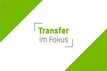 """Die Wort-Bild-Marke """"Transfer im Fokus"""""""