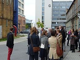 Campusführung auf dem Gelände Wilhelminenhof