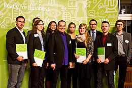 Gruppenfoto von der Stipendienfeier 2012