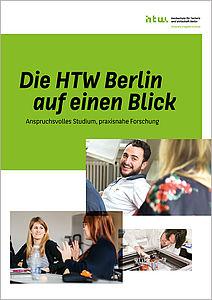 """Cover von """"Die HTW Berlin auf einen Blick"""""""