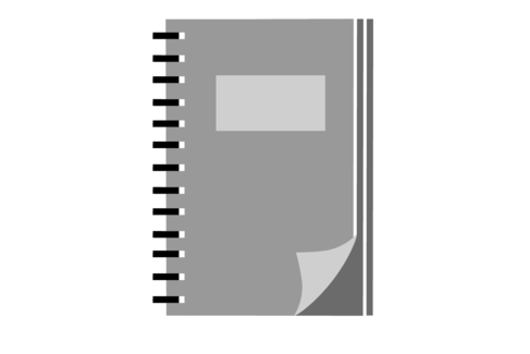 Illustration mit einem Terminplaner