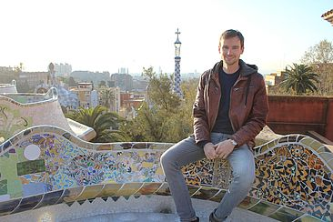 Jannik Schmitz in Barcelona