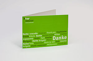Danksagungskarte der HTW Berlin