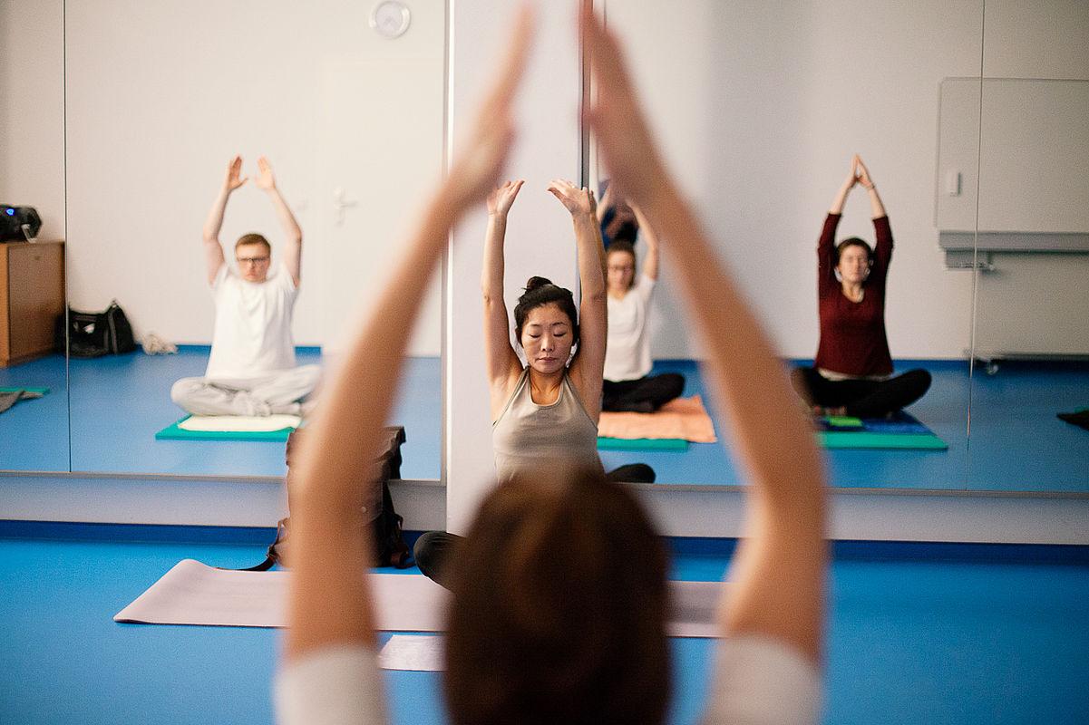 Yoga beim Hochschulsport