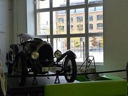 Ein alter Oldtimer als Museeumsstück