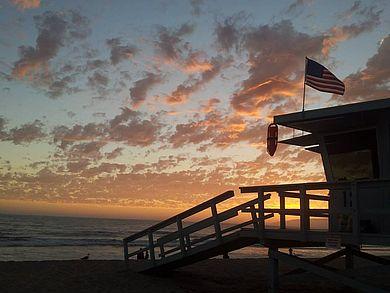 Beach of Santa Monica