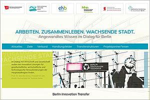 Screenshot der BIT6-Webseite