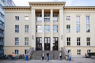 Studierende am Campus Treskowallee © HTW Berlin/Maria Schramm