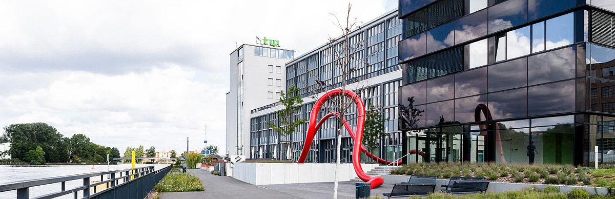 Gebäude G auf dem Campus Wilhelminenhof
