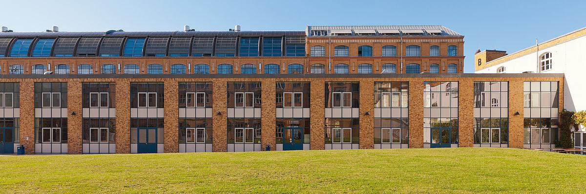 Gebäude B und A auf dem Campus Wilhelminenhof © HTW Berlin/Alexander Rentsch