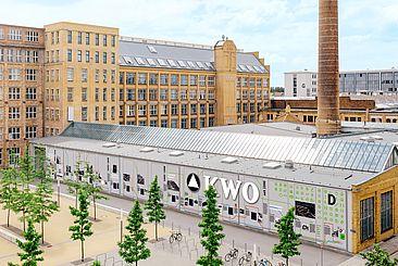 Fotomontage der künftigen Fassade © Montage: Dennis Meier-Schindler, Foto: Alexander Rentsch