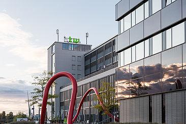 Gebäude G der HTW Berlin am Standort Wilhelminenhof © HTW Berlin / Nikolas Fahlbusch