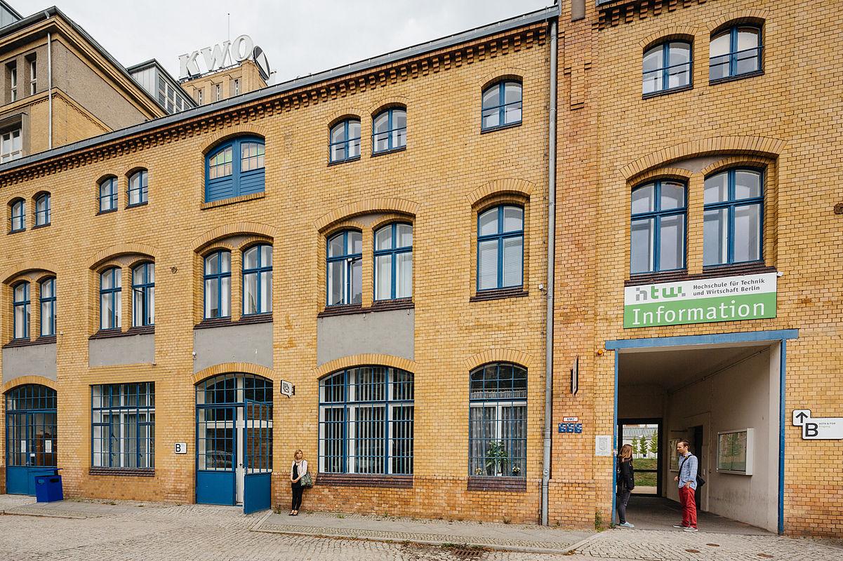 Gebäude B auf dem Campus Wilhelminenhof