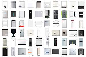 Das Titelbild der Studie Stromspeicherinspektion 2018