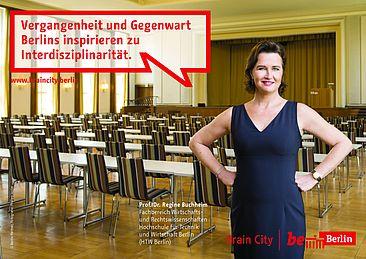 Regine Buchheim als Brain-City-Botschafterin