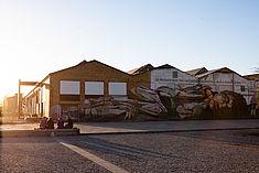 Die Schauhallen in Oberschöneweide © HTW Berlin/Camilla Rackelmann