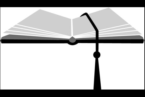 Illustration mit einem aufgeklappten Buch