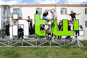 Das diesjährige studentische Team des Deutschen Preis für Wirtschaftskommunikation  © DPWK