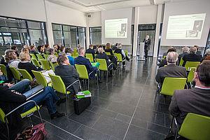Tagung in Gebäude H auf dem Campus Wilhelminenhof
