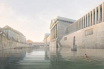 So könnte das Flussbad Berlin aussehen.