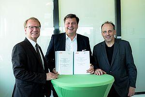 Unterzeichnung Klimaschutzvereinbarung