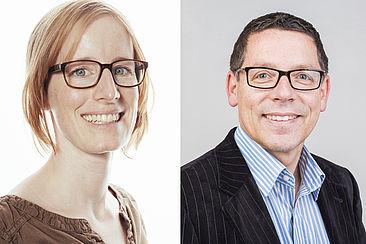 Prof. Dr. Birte Malzahn und Prof. Dr. Stephan Seeck