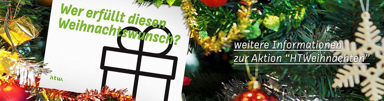 """Weitere Infos zur Aktion """"HTWeihnachten"""""""