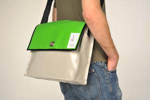 Messengerbag im HTW-Design