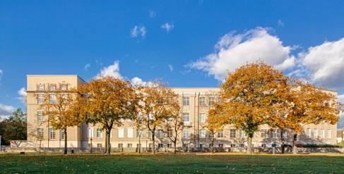 Gebäude A auf dem Campus Treskowallee