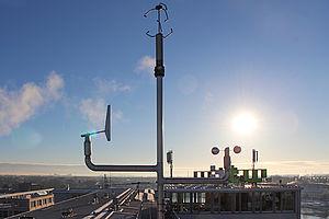 Die Wetterstation der HTW Berlin © HTW Berlin/Joseph Bergner