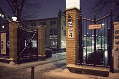 Eingang zum Campus Wilhelminenhof