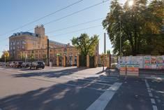 Eingang vom Campus Wilhelminenhof © HTW Berlin/Alexander Rentsch